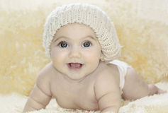 Chéri heureuse Image libre de droits