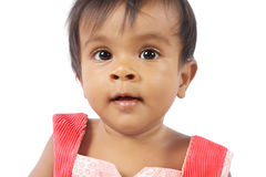 Chéri indienne de petite fille Photo stock