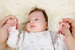 Chéri nouveau-née Images stock