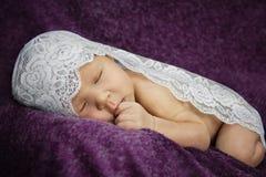 Chéri nouveau-née Photographie stock libre de droits