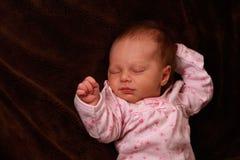 Chéri nouveau-née Image libre de droits