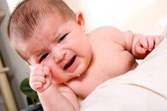 Chéri pleurante Images libres de droits