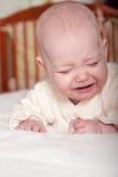 Chéri pleurante Photographie stock