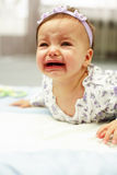 Chéri pleurante photos stock