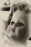 Chéri rose de languette - poupée Images stock