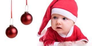 Chéri Santa Photo libre de droits