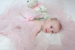 Chéri somnolente 2 d'ange Photographie stock