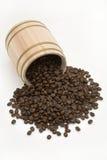 chêne de tambour de café d'haricot à l'extérieur Photographie stock libre de droits