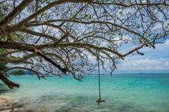 chłód na plaży Obrazy Royalty Free