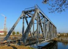 Chłodniczego stawu most Fotografia Stock
