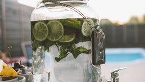 chłodniczy cytrusa lata napojów zakończenie Fotografia Stock