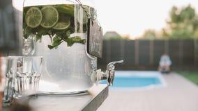 chłodniczy cytrusa lata napojów zakończenie Zdjęcie Stock