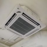 Chłodniczy techniczni pokoje klimatyzacja przemys?owe zdjęcia stock