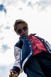 Chłodno chłopiec Obraz Royalty Free