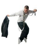 chłodno hip hop mężczyzna potomstwa Zdjęcia Royalty Free
