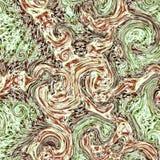 Chłodno marmurowy skutka fractal wzór obraz royalty free