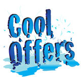 chłodno oferty Fotografia Stock
