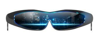 Chłodno okulary przeciwsłoneczni ilustracja wektor
