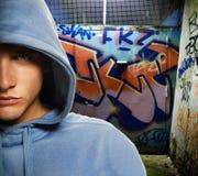 chłodno target1447_0_ chuliganu Fotografia Stock