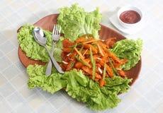 Chłodny Kartoflany Chiński jedzenie zdjęcia royalty free
