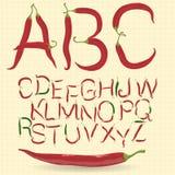 Chłodny typeface wektor ilustracja wektor