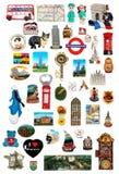 Chłodziarki magnesu kolekcje Fotografia Royalty Free