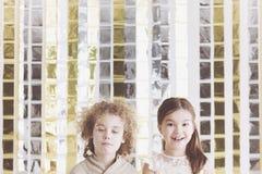 chłopak dziewczyny zobaczą galerii ilustracji podobne wizyty moje dzieciaki trochę proszę zdjęcia stock