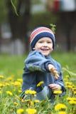 chłopak gra Zdjęcie Royalty Free