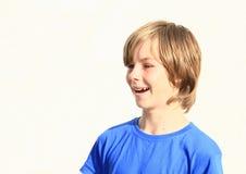 chłopak się śmiać Fotografia Stock