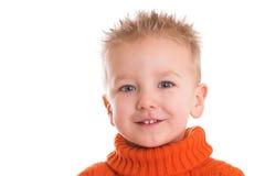 chłopak się uśmiecha Obrazy Royalty Free