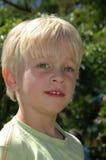 chłopak się uśmiecha Obraz Royalty Free