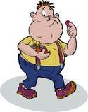 chłopak zabawny tłuszczu Fotografia Royalty Free