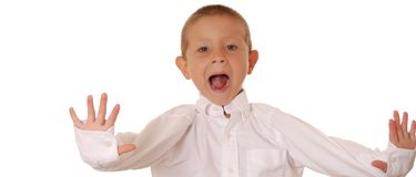 chłopcy 306 ekspresyjna obrazy royalty free
