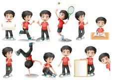 chłopcy ilustracji