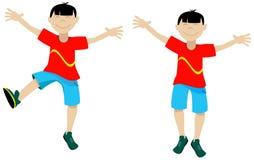 chłopcy azjatykcia szczęśliwa Zdjęcia Stock