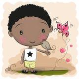 chłopcy kreskówka słodka ilustracji