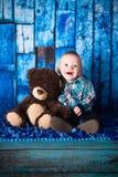 chłopcy 7 miesiąca, stary Zdjęcie Stock