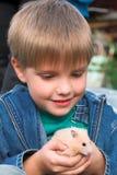 chłopcy pet fotografia stock