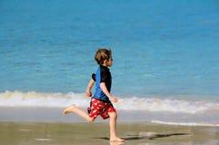 chłopcy plażowa Zdjęcia Royalty Free