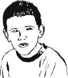 chłopcy portret ilustracji