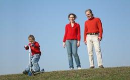chłopcy rodziny Zdjęcia Stock