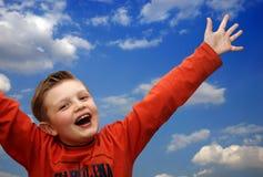 chłopcy szczęśliwa obraz royalty free