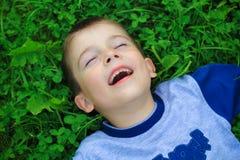 chłopcy szczęśliwa Fotografia Royalty Free