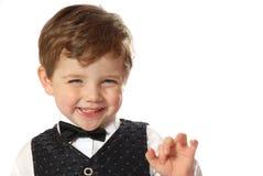 chłopcy szczęśliwa Zdjęcia Royalty Free