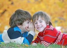 chłopcy tajemnic, Fotografia Stock