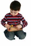 chłopcy zabawka fotografia stock