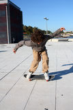 chłopiec łyżwa Zdjęcia Stock