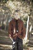 chłopiec śliczna Fotografia Royalty Free