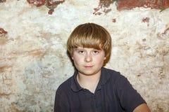 chłopiec śliczni portreta potomstwa Zdjęcia Royalty Free