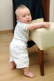 chłopiec śliczny uczenie stojak śliczny obraz royalty free